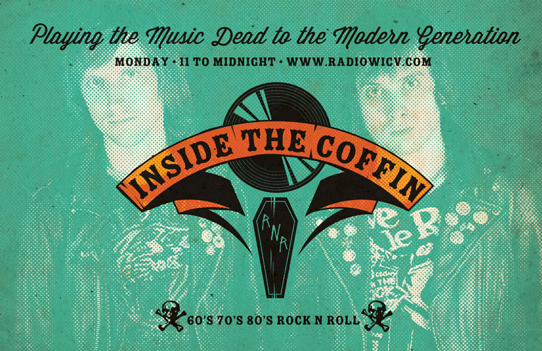 inside the coffin mica internet radio alex hagen wein punk rock and roll brandy row of the gaggers